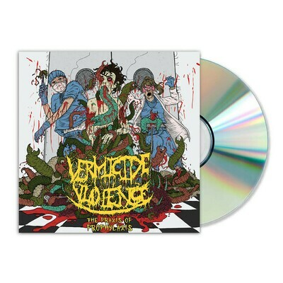 Vermicide Violence - The Praxis of Prophylaxis (2020) CD w/ Sleeve
