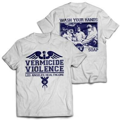 Vermicide Violence - Healthcore Tee
