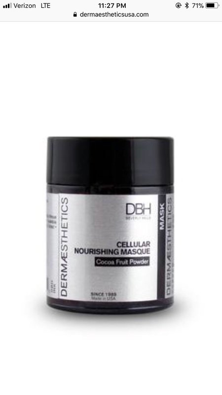 Cellular Nourishing Masque