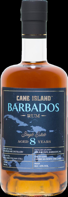 "Cane Island Rum - Foursquare 8 Years Old ""Single Estate Barbados"""