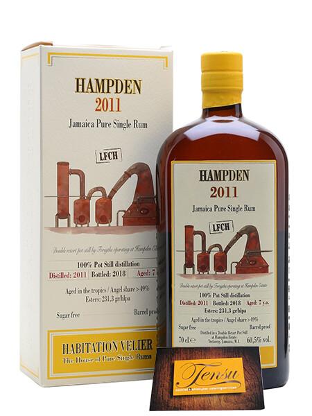 """Velier Rum - Hampden 7 Years Old """"Jamaica Vintage 2011"""" [LFCH]"""
