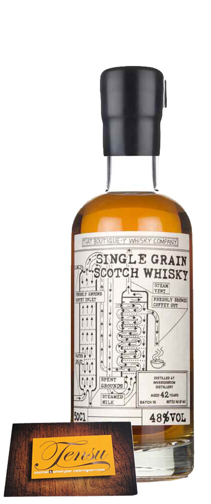 """Invergordon 42 Years Old - Batch 15 """"That Boutique-Y Whisky Company"""""""