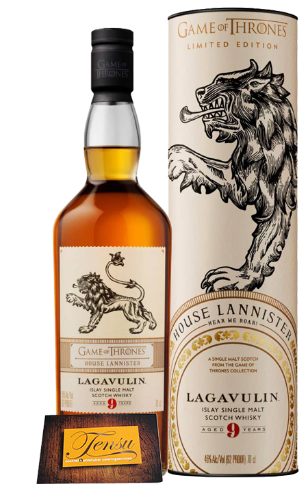 "Lagavulin 9 Years Old - House Lannister  ""Game Of Thrones"""