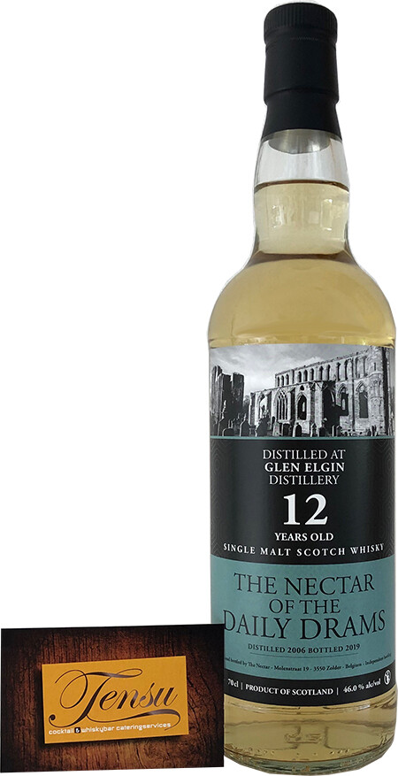 "Glen Elgin 12 Years Old (2006-2019) - Daily Drams ""The Nectar"""