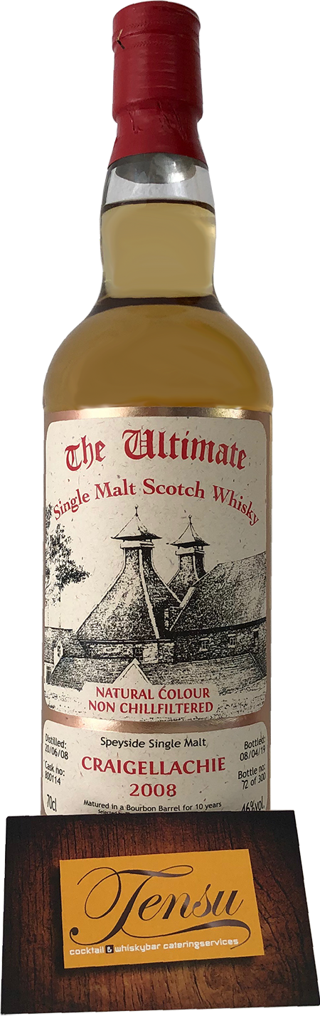 "Craigellachie 10 Years Old (2008-2019) ""The Ultimate"""
