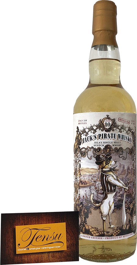 """Jack's Pirate Whisky 10 Years Old (2008-2019) """"Jack Wieber"""""""