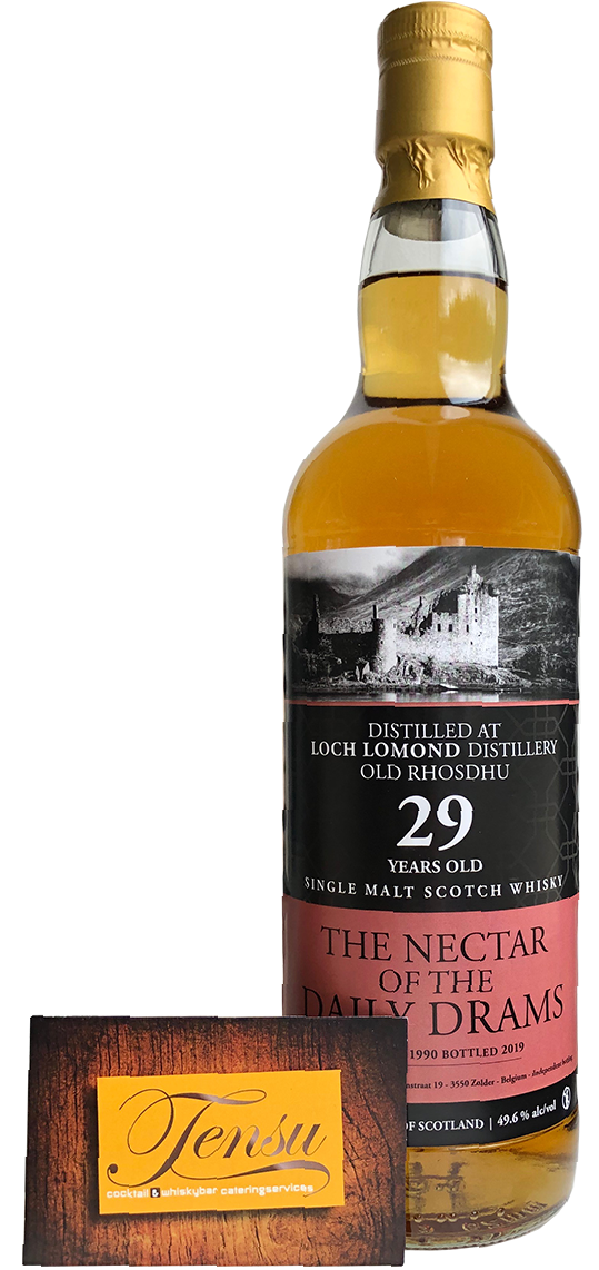 "Old Rhosdhu (Loch Lomond) 29 Years Old (1990-2019) - Daily Drams ""The Nectar"""