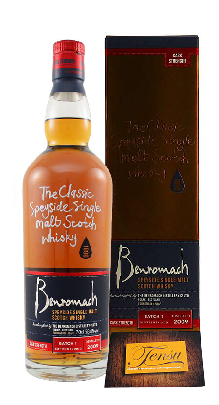 Benromach 2009 Batch Strength, Batch 1