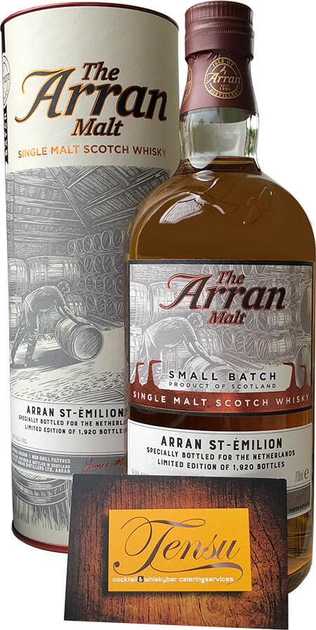 Arran Saint Émilion Cask (2009-2019) Small Batch [SAMPLE 2CL]