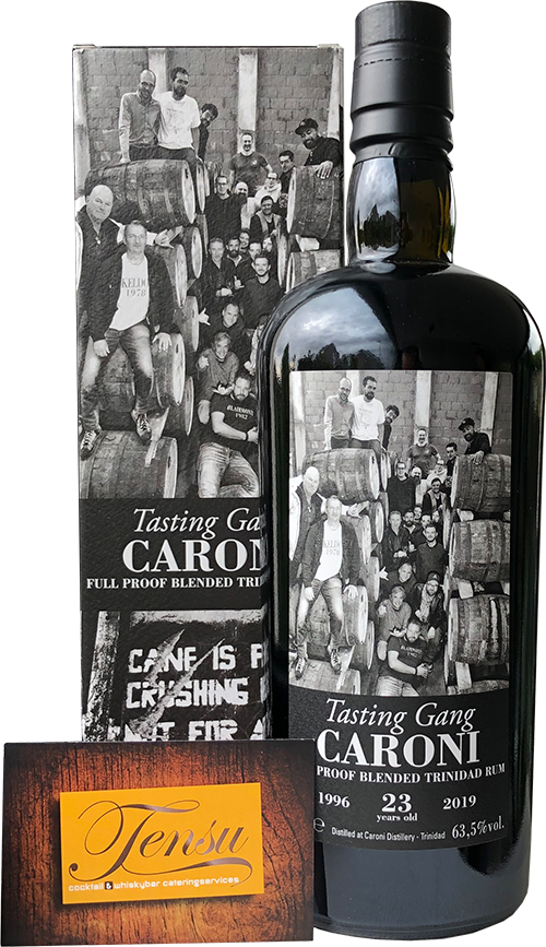 "Caroni Tasting Gang 23 Years Old Trinidad Rum (1996-2019) ""La Maison and Velier"""
