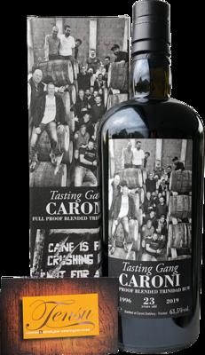 Caroni Tasting Gang 23 Years Old Trinidad Rum (1996-2019)