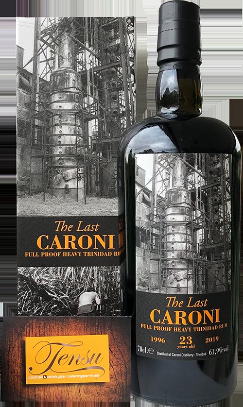 "Caroni The Last 23 Years Old Trinidad Rum (1996-2019) ""La Maison and Velier"""