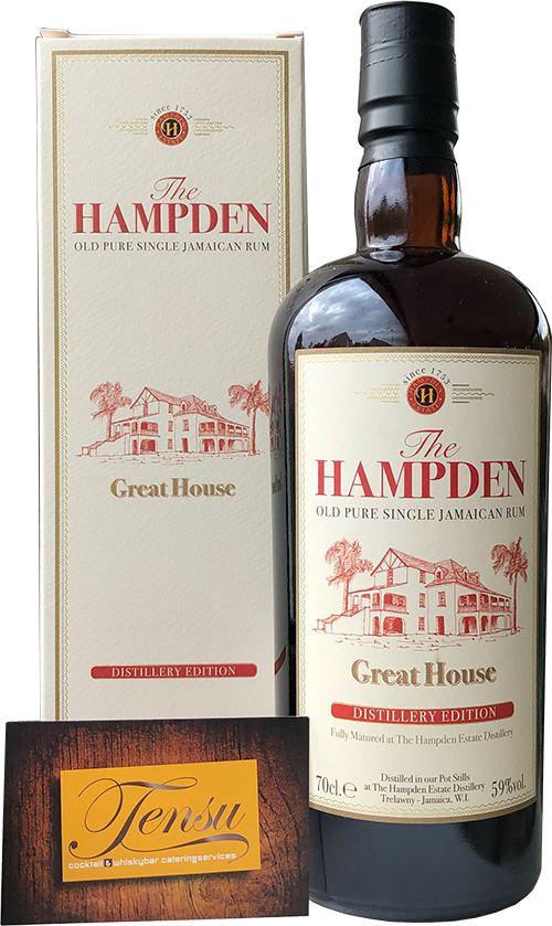 "Hampden Great House (Distillery Edition) ""La Maison and Velier"""
