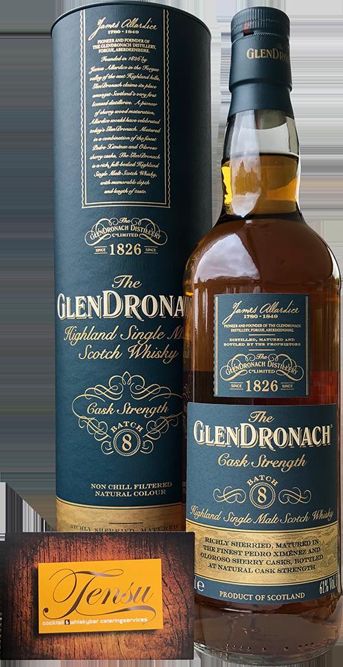 """GlenDronach Cask Strength """"Batch 8"""""""
