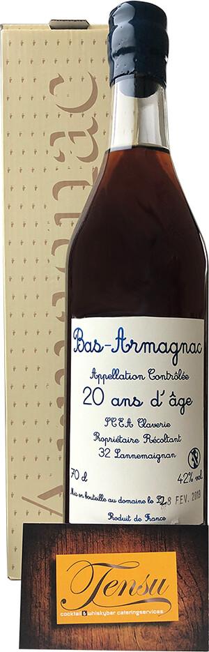Bas-Armagnac 20Y Domaine De Baraillon, Lannemaignan