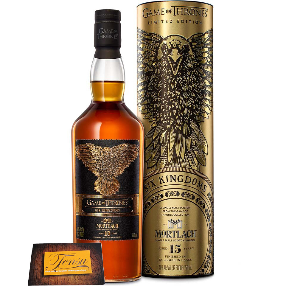 "Mortlach 15 Years Old - Six Kingdoms ""Game Of Thrones"""