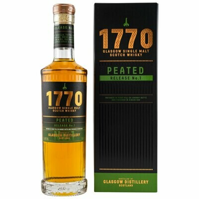 """1770 Peated (Release No. 1) 46.0 """"OB"""" [SAMPLE 2CL]"""