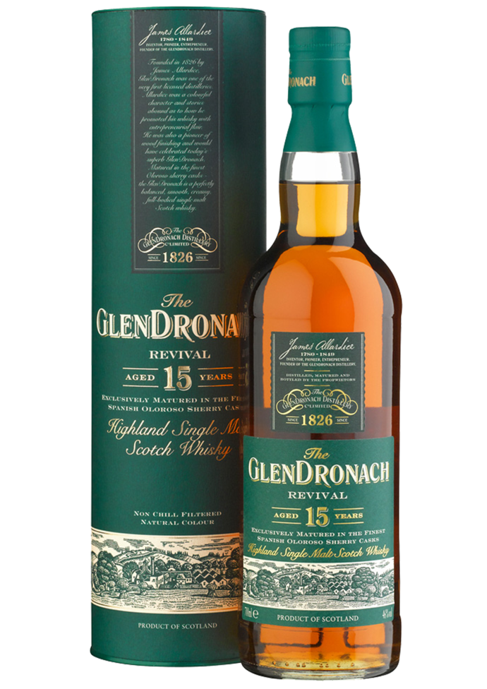"GlenDronach 15 Years Old ""Revival"""
