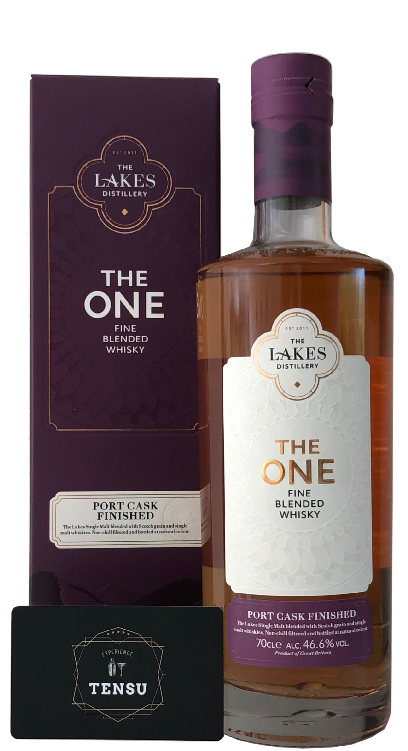 "The Lakes - The One (Port Cask Finish) 46.6 ""The Lakes Distillery"""