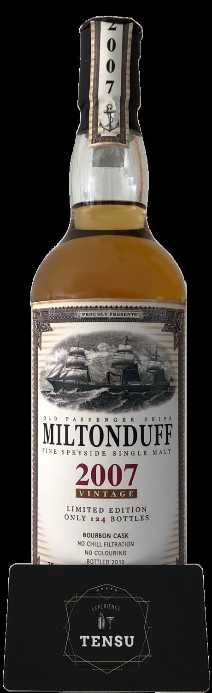"Miltonduff 12Y (2007-2019) - Old Passenger Ships ""Jack Wieber"""