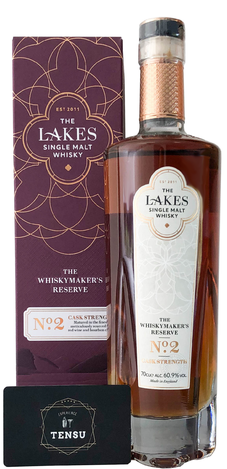 """The Lakes - The Whiskymaker's Reserve No.2 (Cask Strength) 60.9 """"The Lakes Distillery"""""""