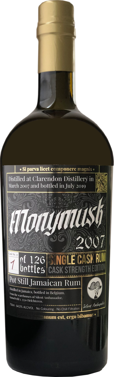 "Monymusk 12 Years Old (2007-2019) Cask Strength ""Silent Ambassador"""