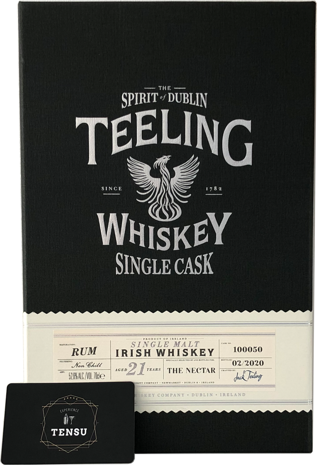 """Teeling 21 Years Old (2020) - Rum Cask Maturation """"The Nectar"""""""