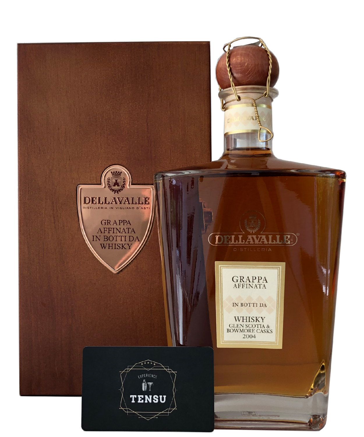 Dellavalle Grappa Affinata Whisky (Glen Scotia & Bowmore Casks)