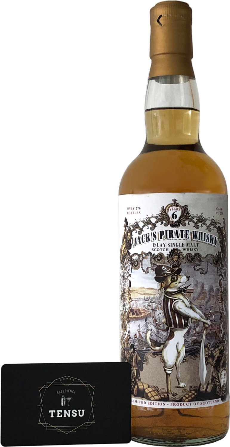 "Jack's Pirate Whisky 6 Years Old (2011-2017) ""Jack Wieber"""