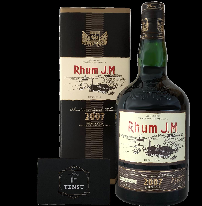 "Rhum J.M. ""Martinique Vintage 2007"""