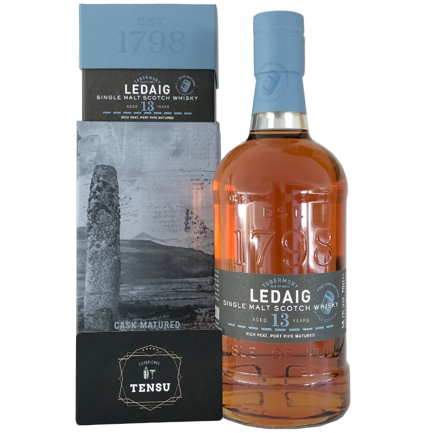 """Ledaig 13 Years Old (2005-2019) """"Limited Edition"""""""
