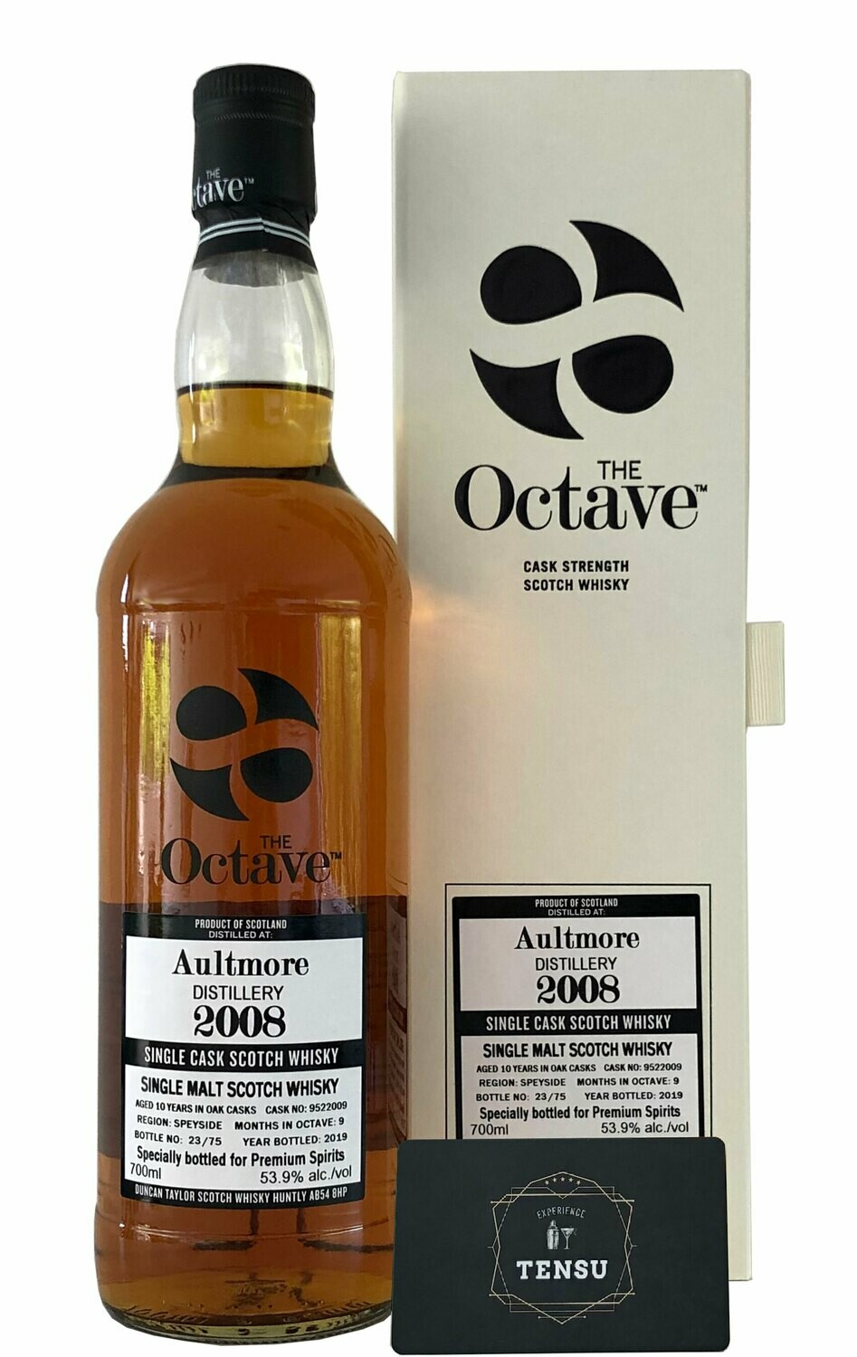 "Aultmore 10 Years Old (2008-2019) ""Duncan Taylor"""