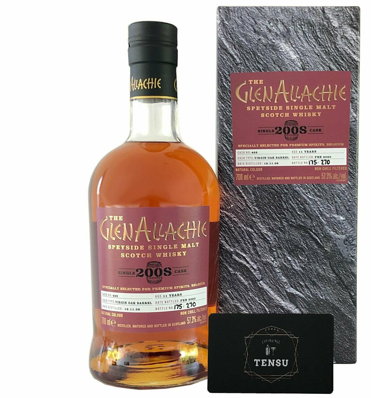 """GlenAllachie 11 Years Old (2008-2020) 57.3 """"Premium Spirits"""""""