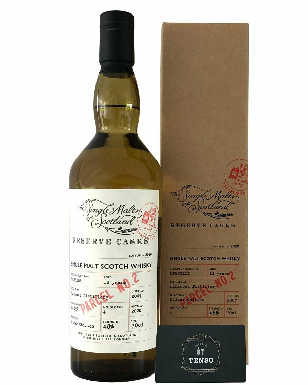 """Linkwood 12 Years Old Parcel No. 2 (2007-2020) 48.0 """"Elixir Distillers"""""""