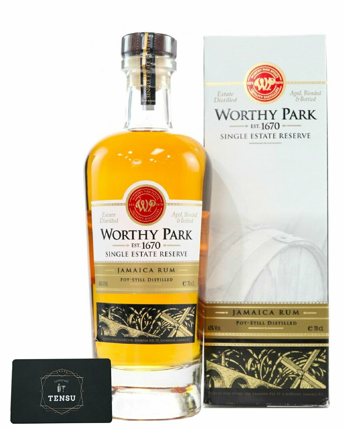 Worthy Park Single Estate Reserve 45.0 OB