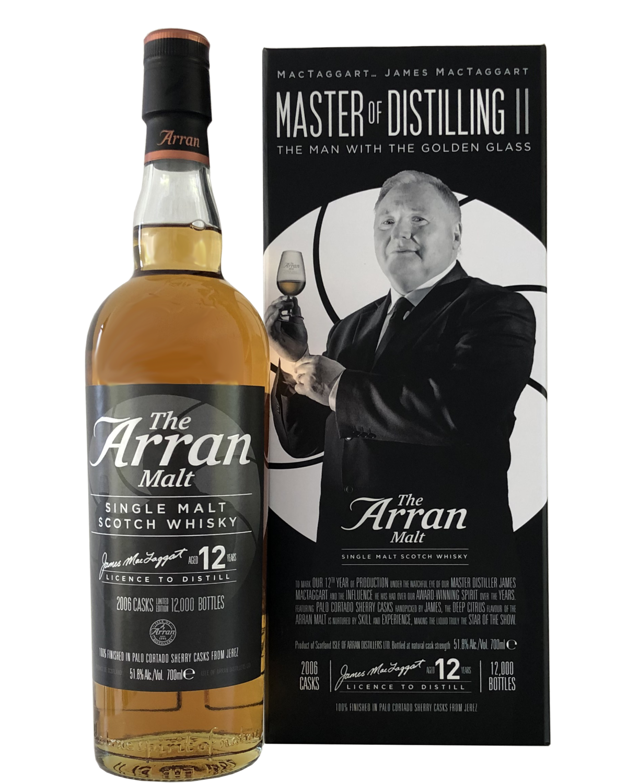 "Arran 12 Years Old (2007-2019) ""Master of Distilling II"""