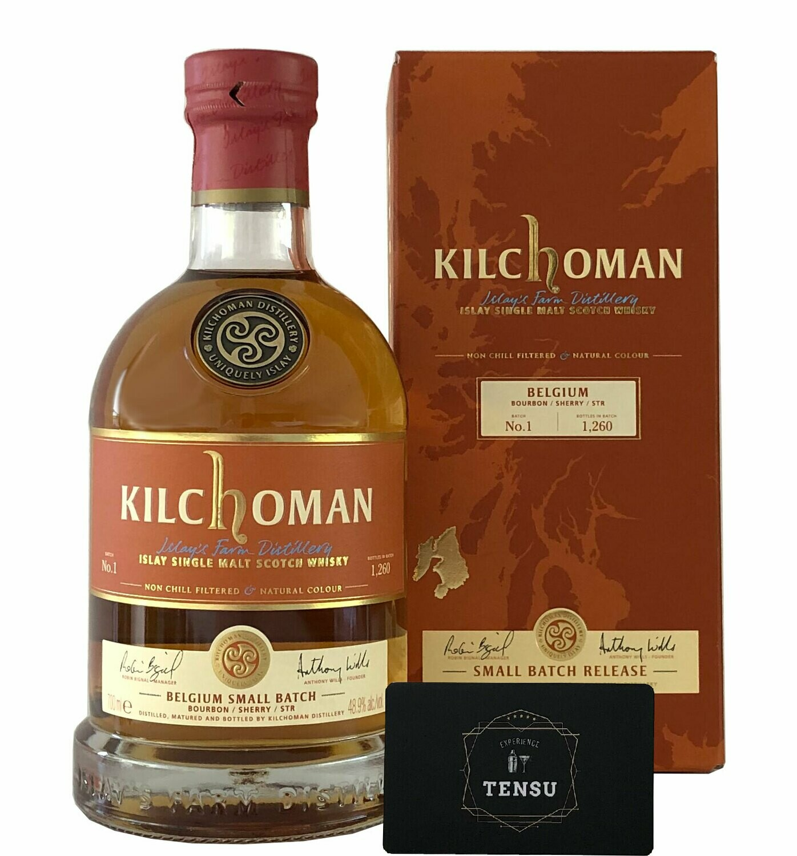 "Kilchoman Small Batch No. 1 Belgium ""Bourbon-Sherry-STR"""