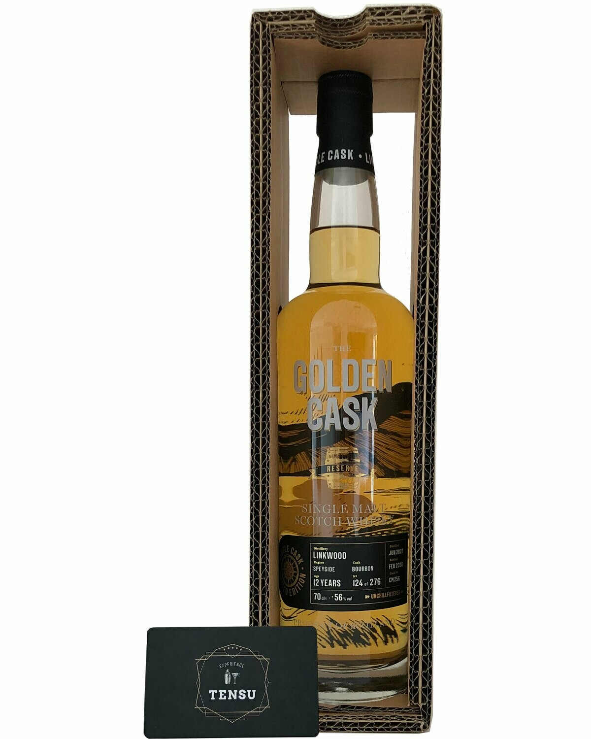 "Linkwood 12 Years Old (2007-2020) ""Golden Cask"""