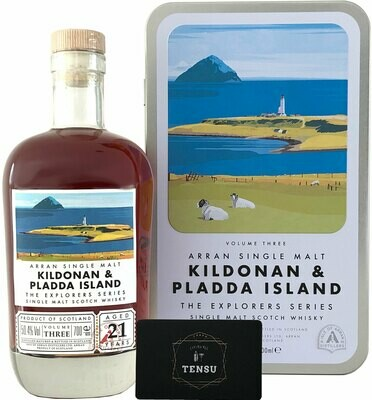 Arran 21 Years Old - The Explorers Series No. 3 [Kildonan & Pladda Island]