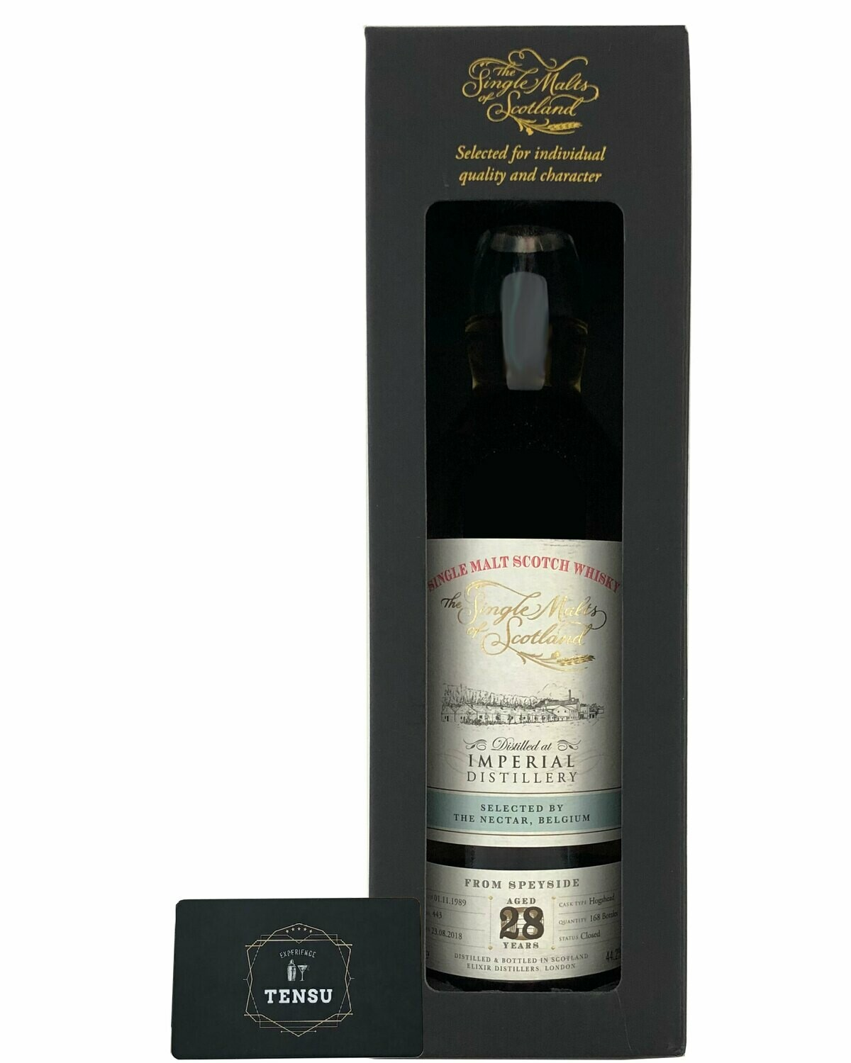 "Imperial 28 Years Old (1989-2018) ""Single malts of Scotland"""
