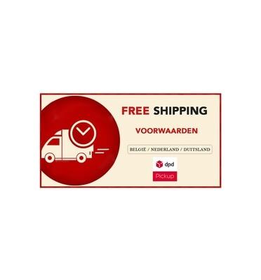 FREE SHIPPING [voorwaarden]