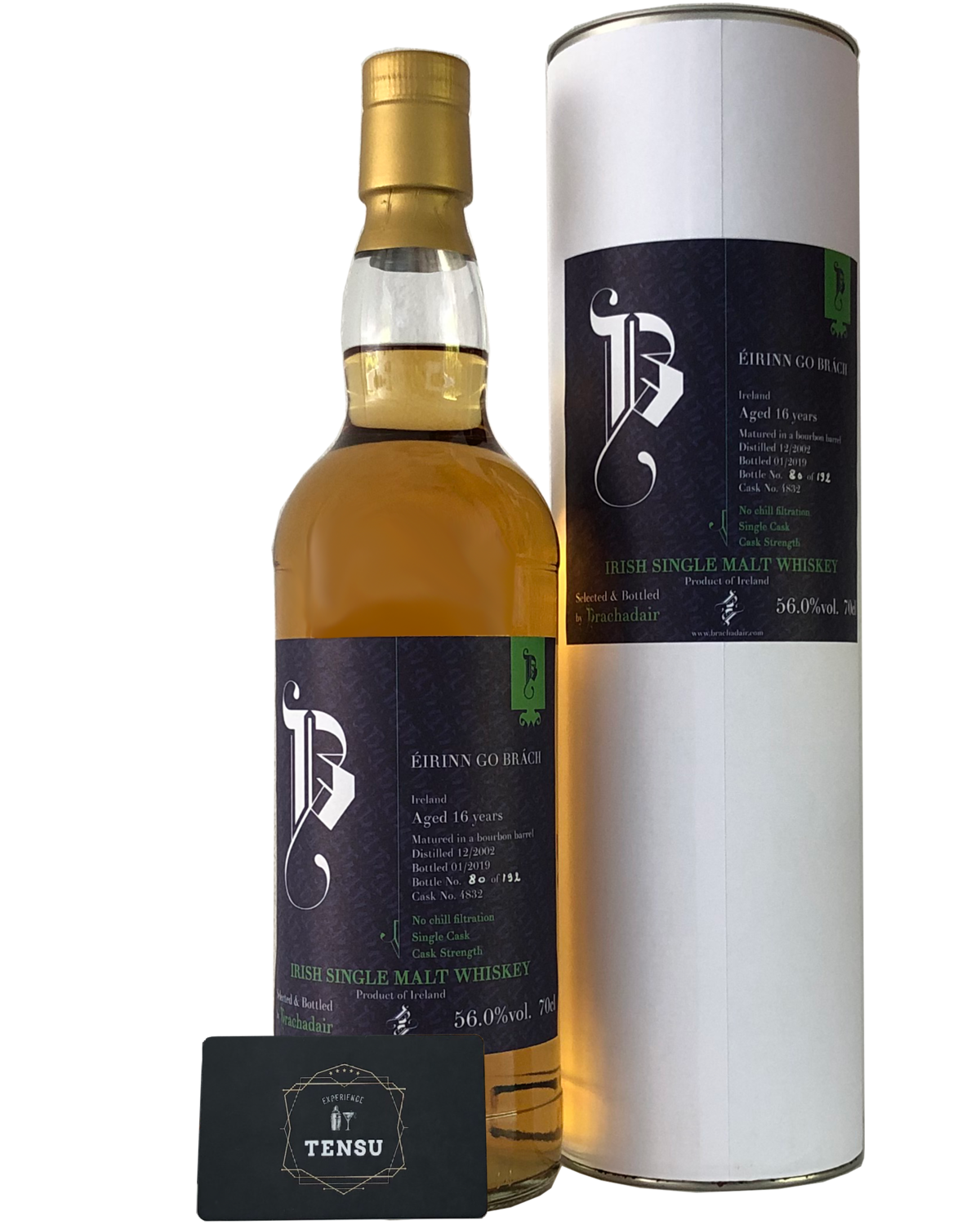 "Irish Single Malt - Eirinn go Brach 16 Years Old (2002-2018) ""Brachadair"""