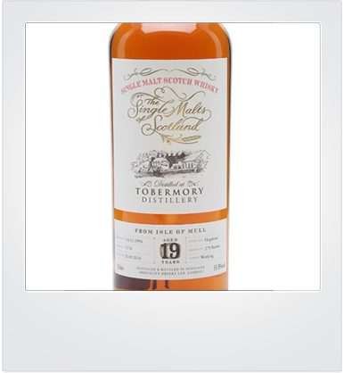 "Tobermory 19 Years Old (1994-2014) ""The Single Malts of Scotland"" [sample]"