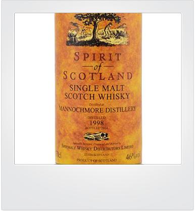 "Mannochmore 16 Years Old ""Spirits of Scotland"" [sample]"