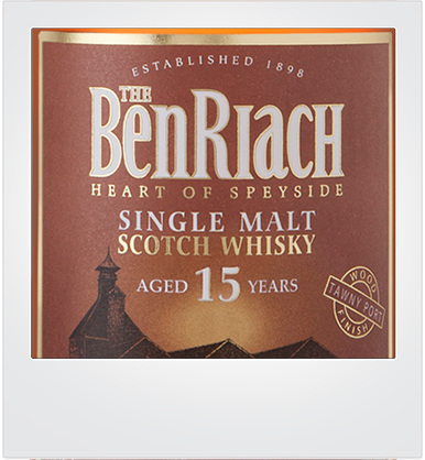 BenRiach 15 Years Old - Tawny Port Finish [sample]
