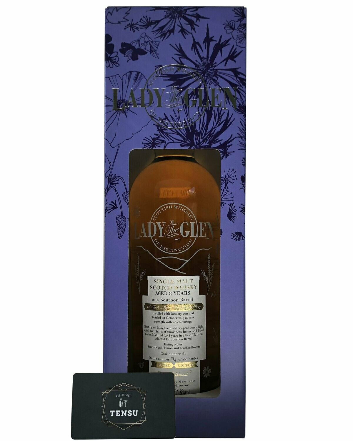 "Bruichladdich 8 Years Old (2011-2019) 65.8 ""Lady of the Glen"""