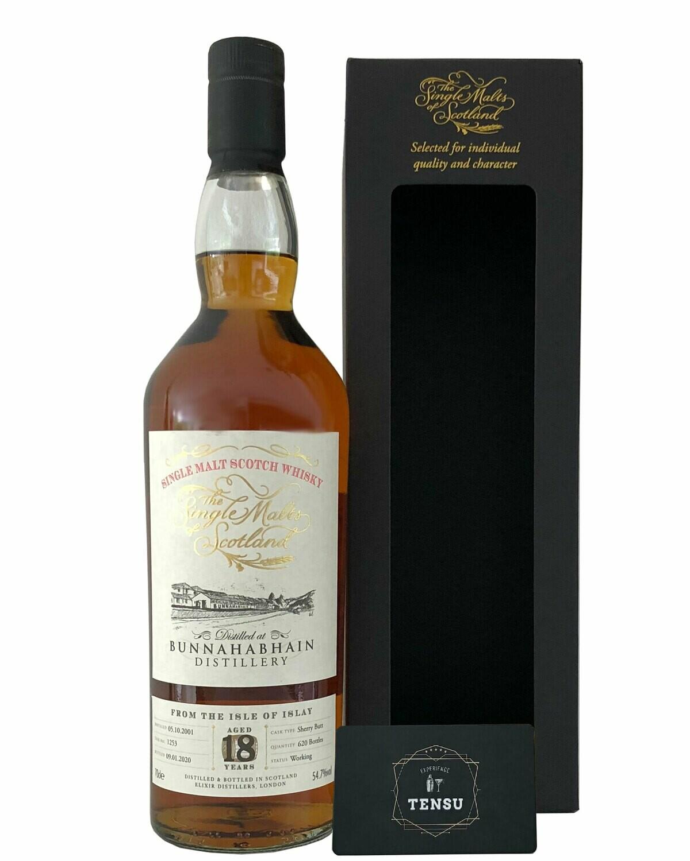 """Bunnahabhain 18 Years Old (2001-2020) 54.7 """"Elixir Distillers"""""""