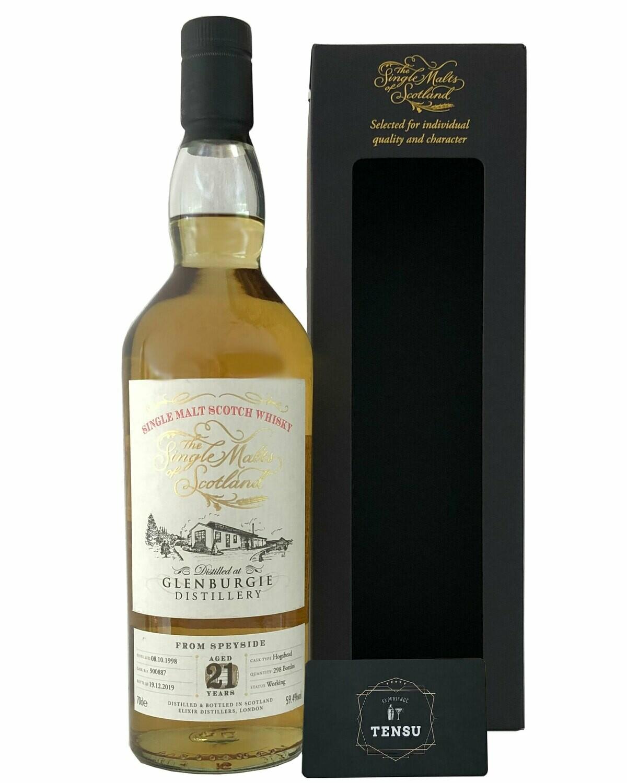 """Glenburgie 21 Years Old (1998-2019) 59.4 """"Elixir Distillers"""""""