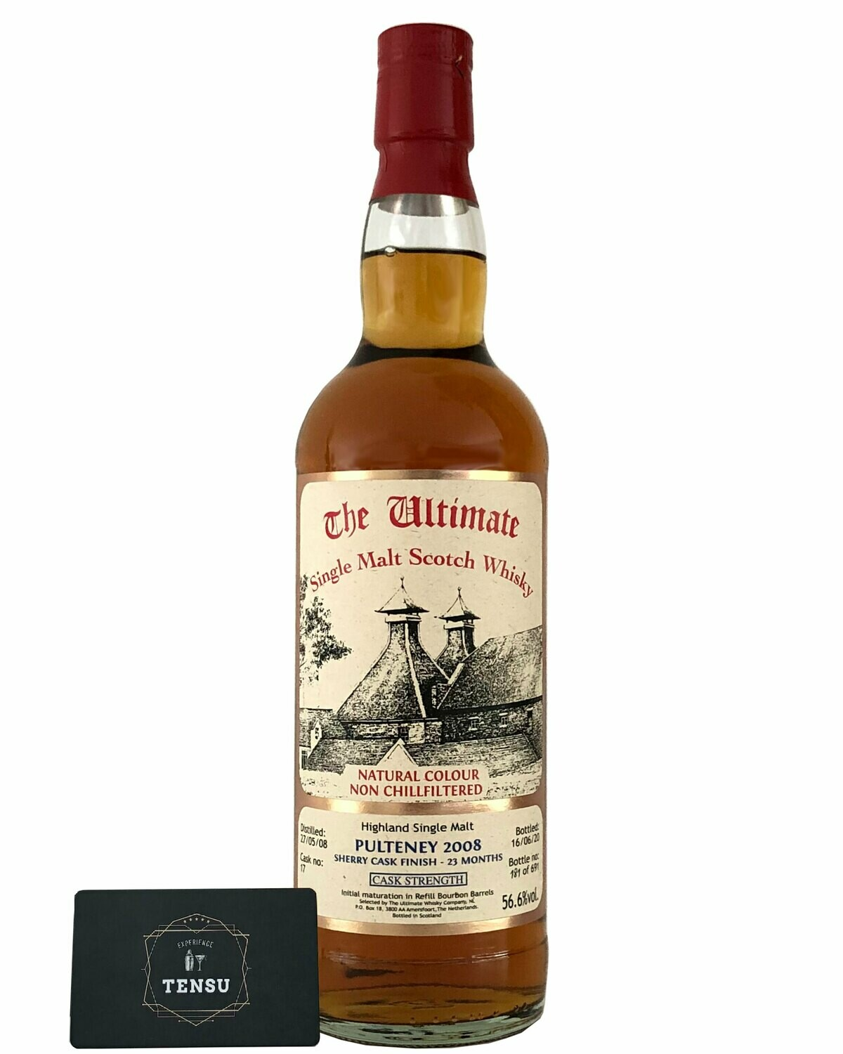 """Old Pulteney 12 Years Old (2008-2020) 56.6 CS """"The Ultimate"""""""