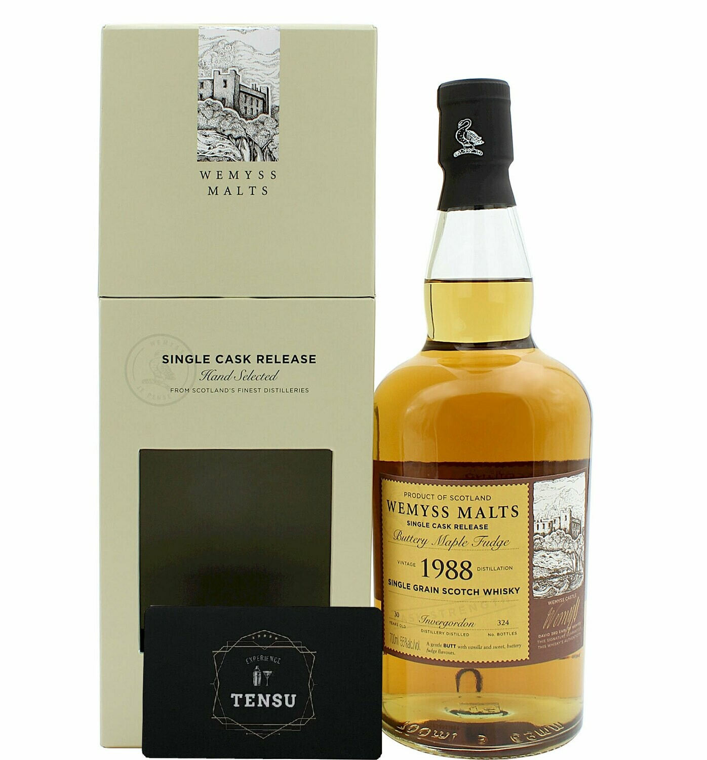 "Invergordon 30 Years Old (1988-2018) 55.0 ""Wemyss"""